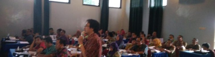 Blora Jateng 5-7 Sept 2017 – Pendidikan & Pelatihan Peningkatan Kompetensi bagi Pejabat Pembuat Komitmen